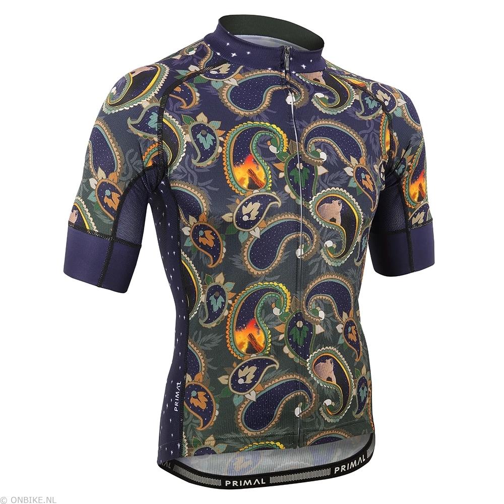 CYC-ADELIC PAISLEY heren fietsshirt