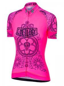 Day of the living pink dames fietsshirt