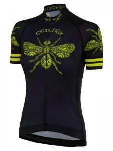 Queen bee dames fietsshirt