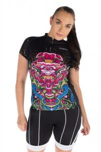 Sonic Bloom Women's Evo Jersey model